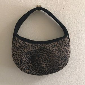 Eric Javits Cheetah Print Hobo Bag